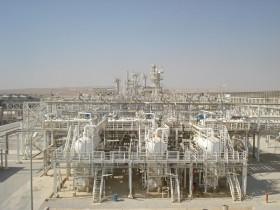 Erdgasaufbereitungsanlage im arabischen Raum