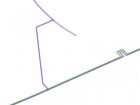 Details der Kälteleitungen unter Olympia-Bobbahn Sotschi